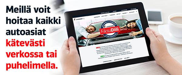 Meillä voit hoitaa kaikki autoasiat kätevästi verkossa tai puhelimella.